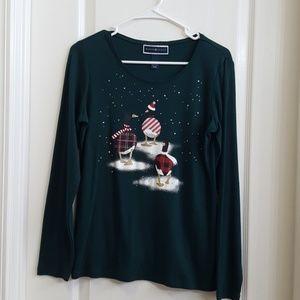 Karen Scott Christmas Long Sleeve - Ducks
